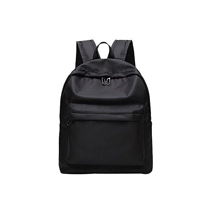 Duoya Unisex Girl Boy Rucksack Shoulder Bookbags School Bag Satchel Travel Backpack- noir à prix pas cher