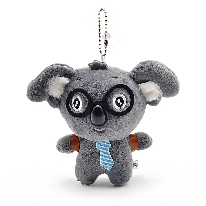 Autre Cute Little 9cm Approx Unicorn Plush Toys for Christmas Keychain Unicorn Plush Doll Toy Kids Gift Small Pendant Chain(koala gris same phot) à prix pas cher