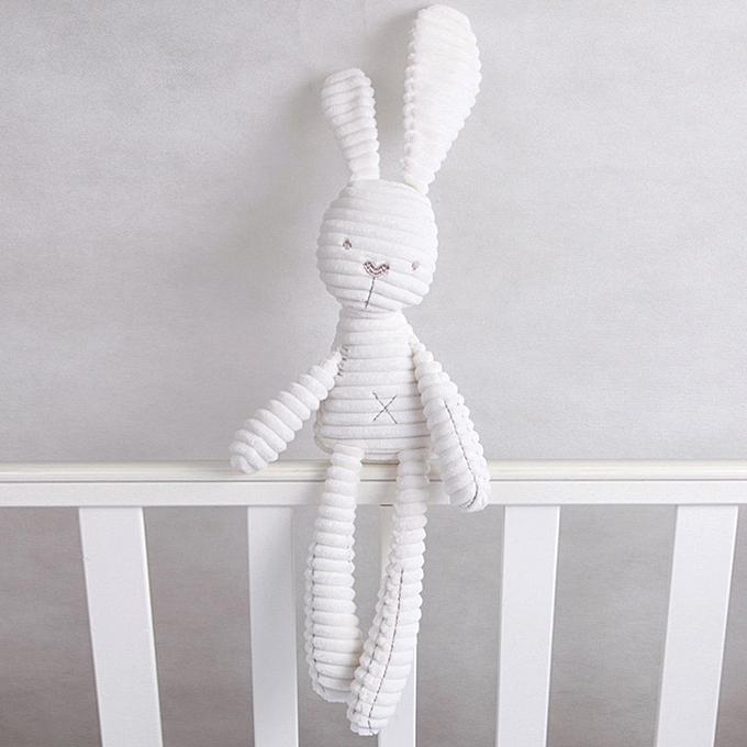 Autre Cute Rabbit Elephant Baby Soft Plush Toys Brinquedos 40CM Plush Rabbit Stuffed Toys blanc est Price Best Gift for Kids(Rabbit) à prix pas cher