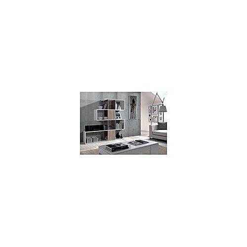 Biblioth que zigzag blanc bois salon jumia maroc for Meuble zig zag