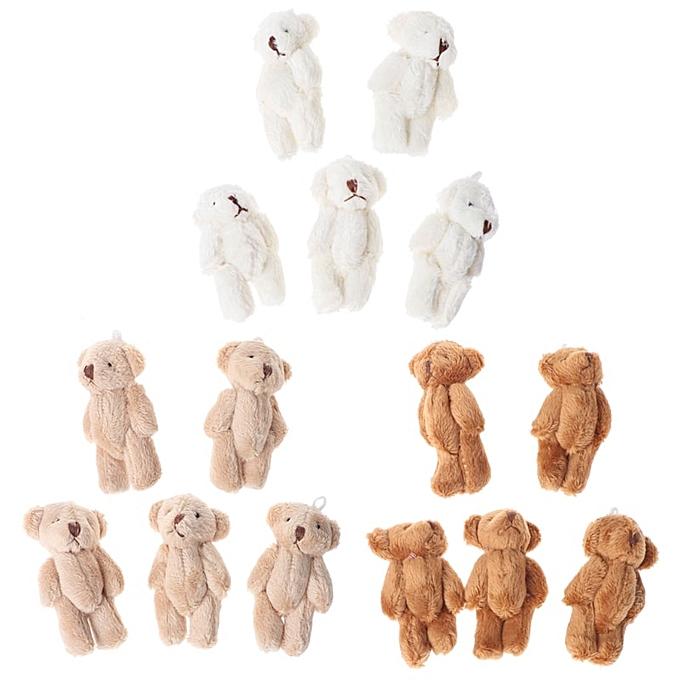 Autre 5PCS Kawaii Small Bears Plush Soft Toys Pearl Velvet Dolls Gifts Mini Teddy Bear MAY7 AXY(BN) à prix pas cher