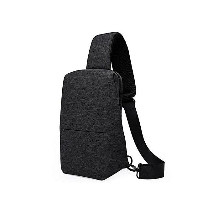 Generic nouveau Single Shoulder sac Hommes Chest Pack Décontracté petit Shoulder sac à prix pas cher