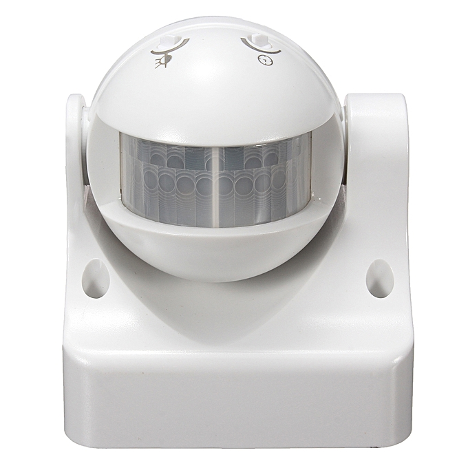 UNIVERSAL 180° PIR Motion Activated Sensor LED Light Indoor Outdoor Garden Patio Wall Shed à prix pas cher