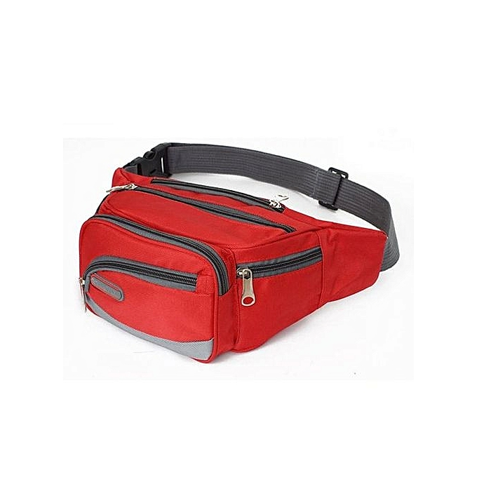 Eissely Outdoor Sports Casual Backpack Crossbody Shoulder Bag Chest Bag   rouge à prix pas cher