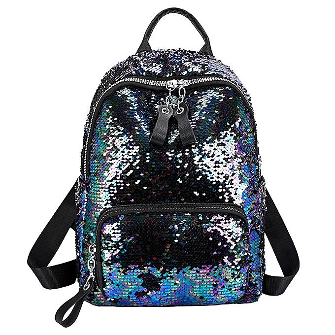 Other sacs for femmes 2019femmes Sequin Hit Couleur School sac sac à dos Student Satchel Shoulder sac luxury femmes sacs designer(1) à prix pas cher