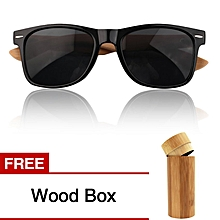 264aadbeb4e27 Bamboo Sunglasses Vintage Summer Glasses Buy 1 Get 1 Free