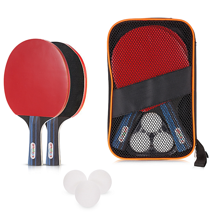 Autre Ametoys Table Tennis Set Ping Pong Sports Toy Professional Recreational Games 2 Paddles 3 Table Tennis Balls and Carry Case à prix pas cher