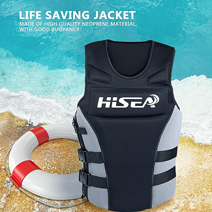 Other Life Saving Drifting Swimming Life Jacket Neoprene Vest For Kids & Adults (L) à prix pas cher