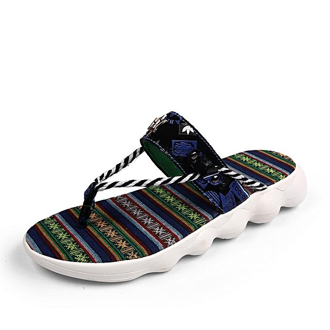 Fashion Sandales confortables-Bleu à prix pas cher