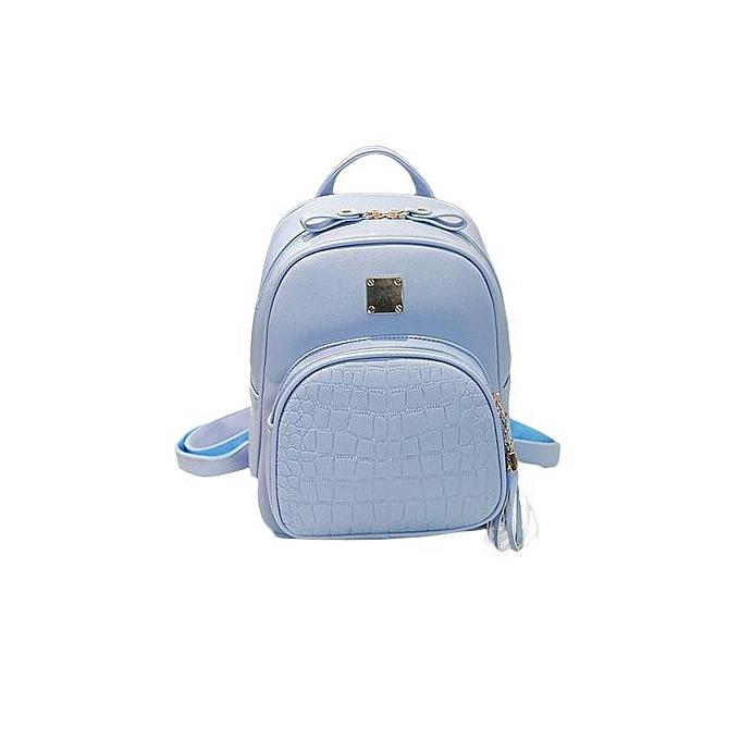 Generic nouveau mode femmes sac à doss  Girl School sac High Quality Ladies sacs BU à prix pas cher