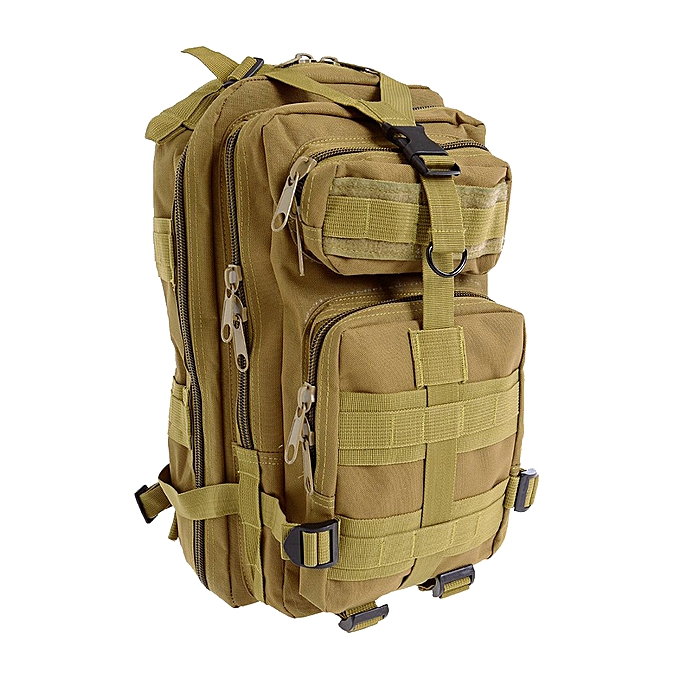 GENERAL Men Outdoor Backpack - Men Outdoor Backpack Military  Backpack Camping Hiking Hunting Trekking Backpack (mud Couleur) à prix pas cher