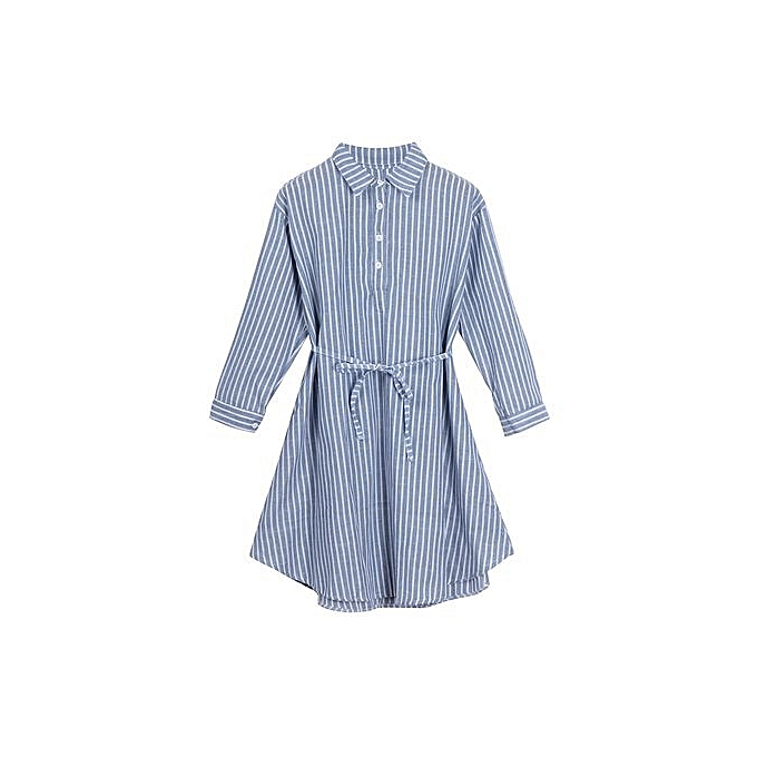 mode Tectores mode rayé Robe Lining Robe For Pregnant Maternity femmes Clothes à prix pas cher