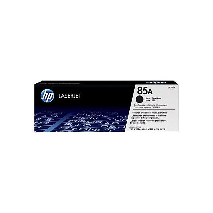 HP HP 85A toner LaserJet noir original (CE285A) pour HP LaserJet Pro M1132 M1212 M1217 P1102 P1104 P1106 à prix pas cher