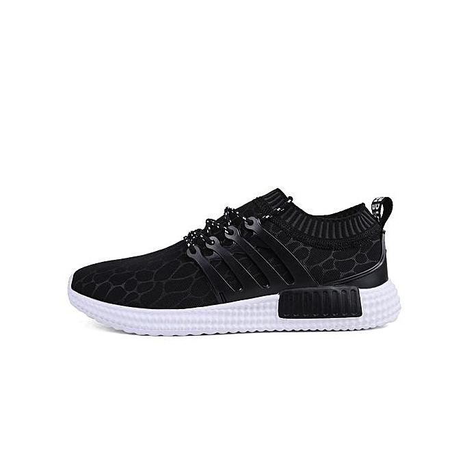 HT HT HT   Breathable Sport Shoes Outdoor Running Jogging Shoes -Black à prix pas cher  | Jumia Maroc 19cc16
