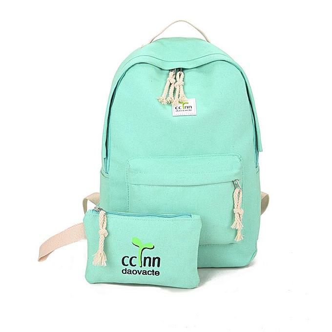 Generic Noble garçons Girls sac à dos Shoulder Booksacs School sac Satchel voyage toile sac à dos à prix pas cher