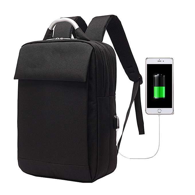 Fashion jiahsyc store New Arrivals Usb Recharging Anti-thief Backpack wen bag -noir à prix pas cher