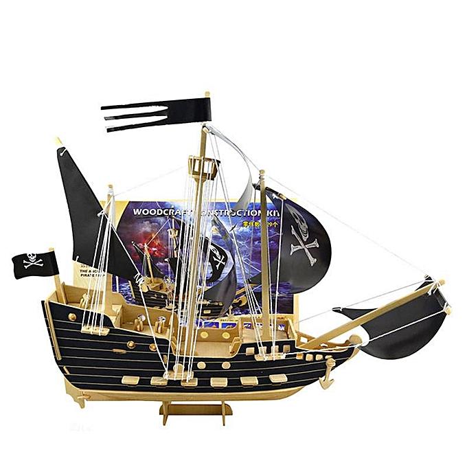 OEM The Old Tree Kit de construction boiscraft SHIP SHIP SHIP - Modèle de puzzle 3D en bois pour enfants   adultes à prix pas cher