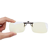 168872f0e6b3c4 XIAOMI Clip On Sunglasses Anti Blue-ray Glasses Eyes Protection 110° Rotary  For Computers