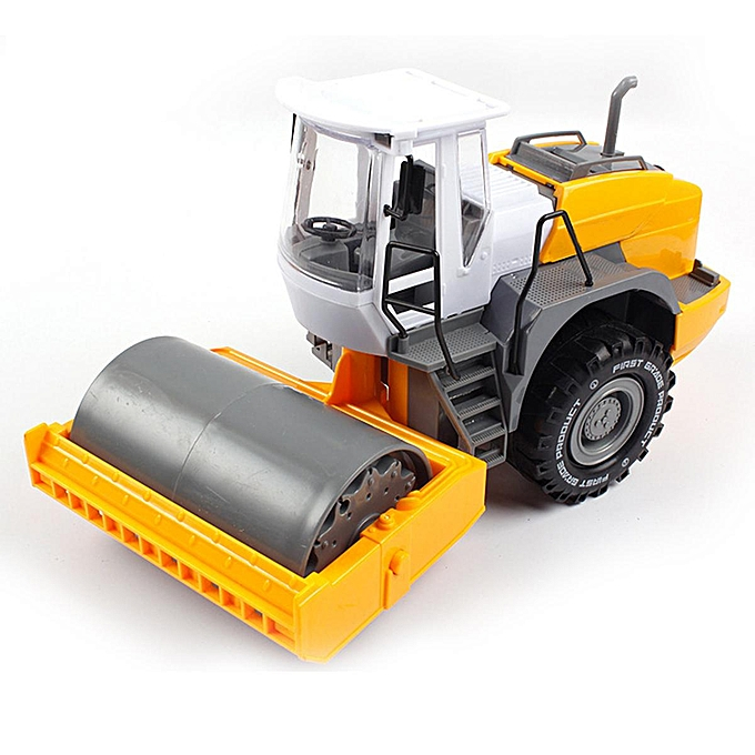 OEM 1 22 ABS Excavator Road Roller Model Vehicle Engineering Digging Kids Toys à prix pas cher