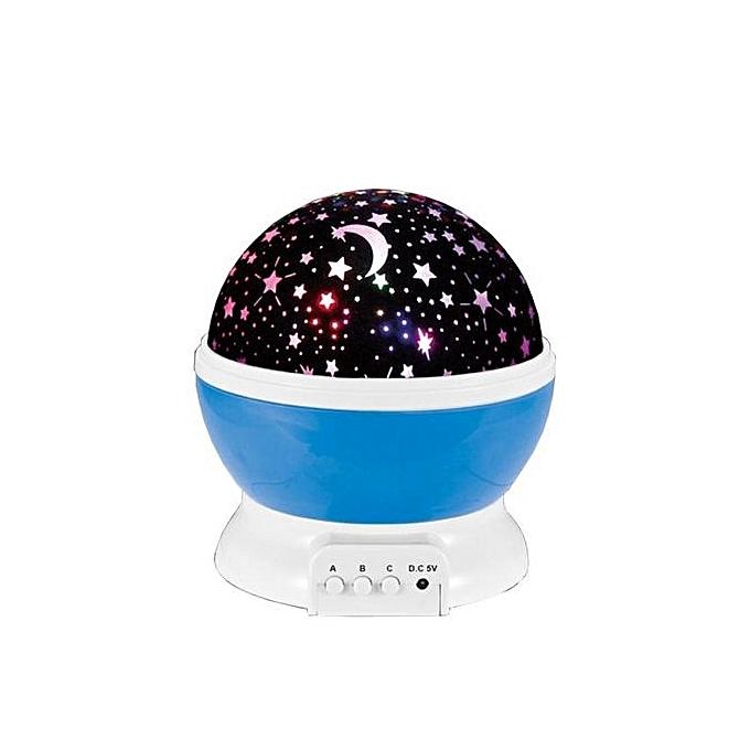 Generic Star Projection Lamp Rohommetic Babysbreath Lantern à prix pas cher