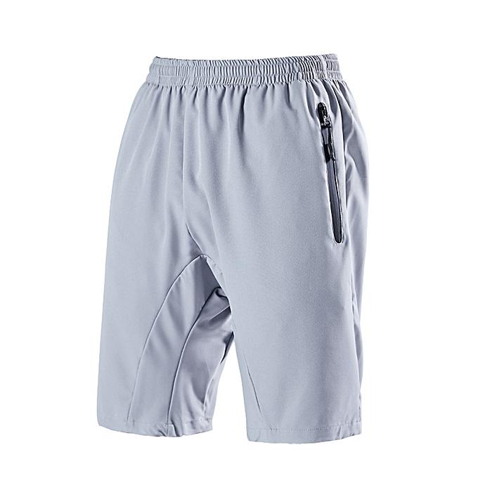 mode jiahsyc store Hommes& 039;s été Décontracté Pure Couleur Quick-drying Loose Sport respirant courtes Pants à prix pas cher