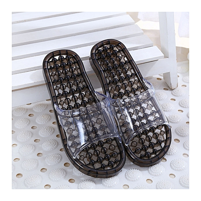 Fashion Casual Slip On Massage Bathroom chaussures Slip On Home Slippers à prix pas cher    Jumia Maroc