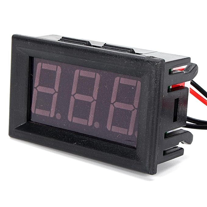 Other 12V rouge LED Digital Thermometer w  Sensor Probe -50110C Temperature Detector FCJMALL à prix pas cher