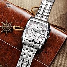 0f2c0f156 MEGIR Original Luxury Men Watch Stainless Steel Date Mens Quartz Watches  Business Big Dial Wrist Watch