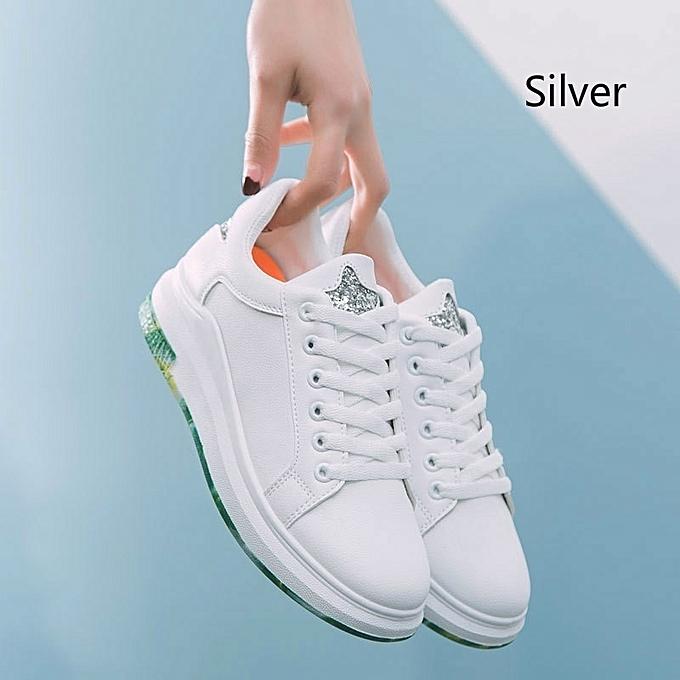 Autre Stylish ins Popular Schoolgirls' Sneakers Sports Casual Sports Sneakers White Shoes à prix pas cher  | Jumia Maroc a0ef9e