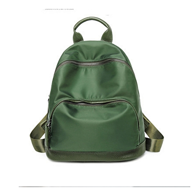 Generic Nice Multi-function sac à dos For femmes voyage sacs School College sac Décontracté-vert à prix pas cher