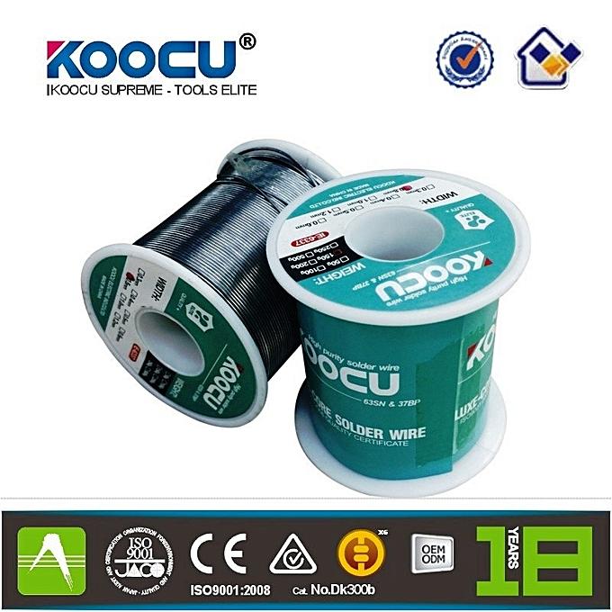 KOOKAI Koocu À Souder Fil de Rosin Originale base Flux Rouleau 4.0 mm (63%-37%) pour De Réparation Électrique -250g à prix pas cher