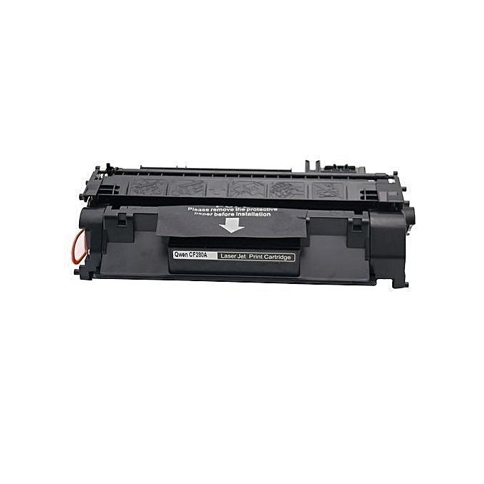 Generic PACK 3 Toner 80A CF280A pour HP Laserjet  P2035, P2035n, P2055dn- noir à prix pas cher