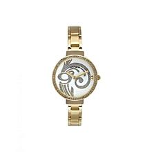 Montre Femme - KO011 1BM - Dore Cadran Blanc - Bracelet Acier Dore c36b326e473