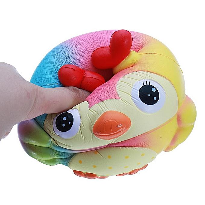 OEM Jumbo Cute OWL Squishy Slow Rising Soft Collection Gift Kid Fun Toy 151412.5cm à prix pas cher