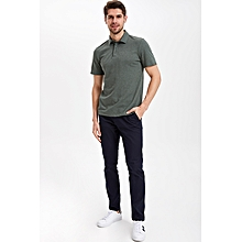 4006292764036 T-shirt Polo - Olive