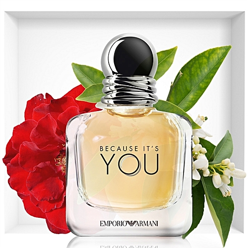 Emporio Armani Because Its You Eau De Parfum 50ml à Prix Pas Cher