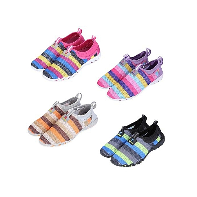 Fashion Casual Colorful Mesh Slip On Breathable Sports Shoes For For For   à prix pas cher  | Jumia Maroc e403c5