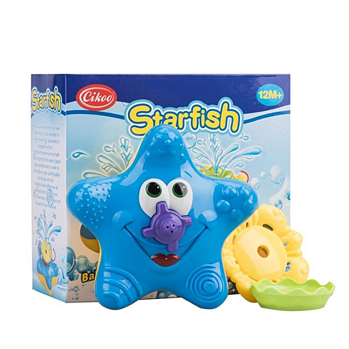 UNIVERSAL Cikoo Bath Toys for Baby Kids Bathtub Bathroom Swimming Pool Beach Electric Starfish Floating Water Toys- à prix pas cher