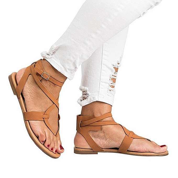 Other Large Taille Summer femmes Strappy Sandals à prix pas cher