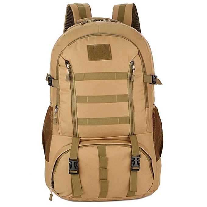 Fashion 1033 Nouveau paquet tactique 60L grande capacité extérieure sac à dos d'escalade de sac à dos de voyage en plein air à prix pas cher