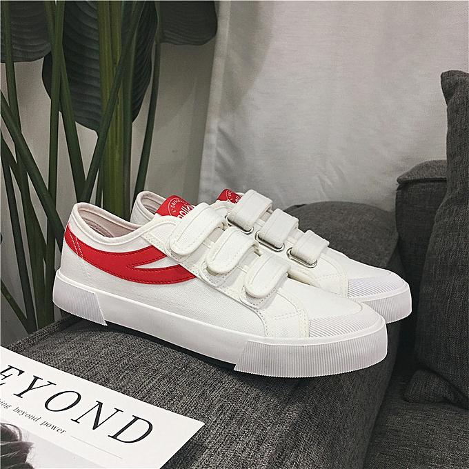 Fashion Men's canvas chaussures low cut sports chaussures bleu à prix pas cher    Jumia Maroc