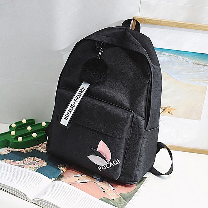 Other voyage sac à dos Décontracté School sac à dos School sacs for Teenage Girls Shoulder toile School Girls Boy sac à dos Satchel L5%(noir) à prix pas cher