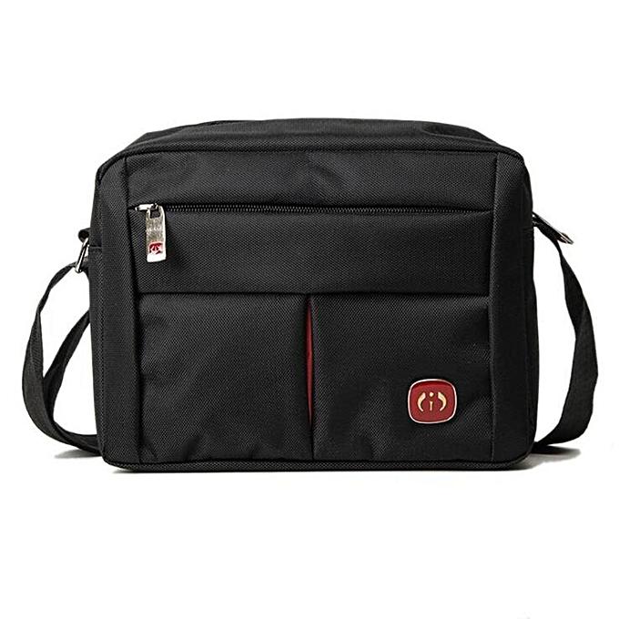 UNIVERSAL Fashion Men Briefcase Business Shoulder Messenger Crossbody Bag Handbag Tote New A-Large à prix pas cher
