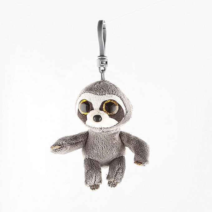 Autre Ty Beanie Boos Sloth Keychain Stuffed Plush Animals Toy Doll 4  10cm à prix pas cher