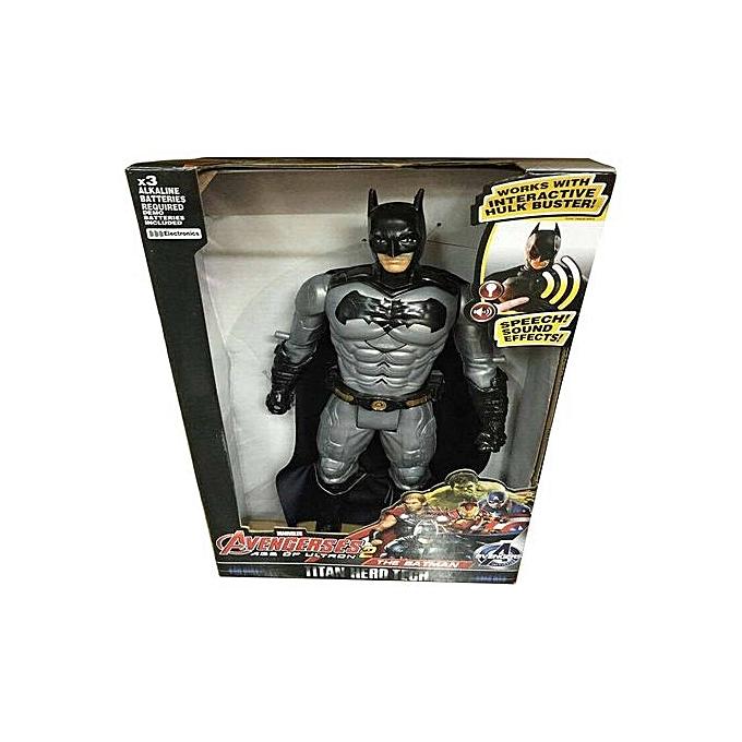 GENERAL 30cm American Movie Anime Super Heros Captain America Ironhomme Spiderhomme The First Superhero PVC Figure Toy-Bathomme à prix pas cher