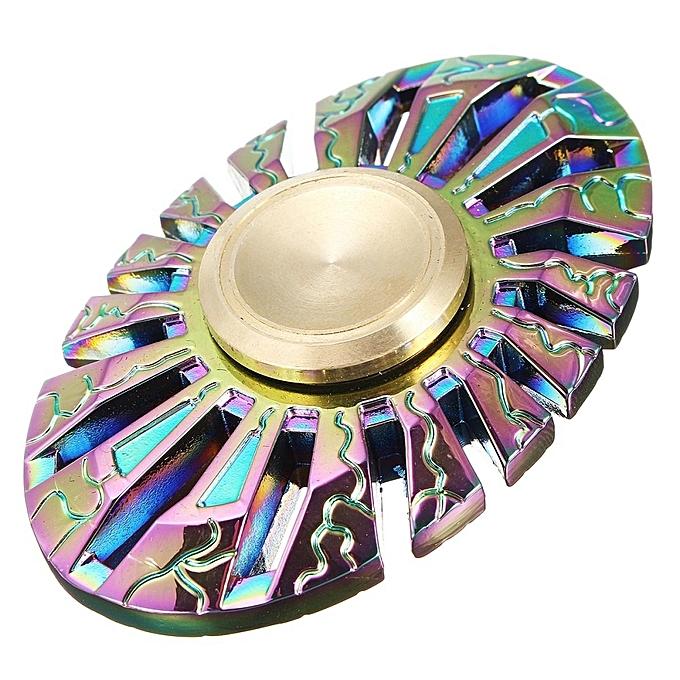 UNIVERSAL 5 BeFaible Thor Rainbow Fidget Spinner Focus Finger Gyro Stress Relief Gyroscope à prix pas cher