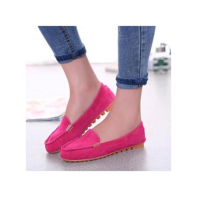 Fashion Hiamok_femmes Flats chaussures Slip On Comfort chaussures Flat chaussures Loafers Hot 39 à prix pas cher    Jumia Maroc