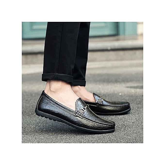 Zant  's 's  Formal Shoes Business Casual Oxfords Leather Shoes à prix pas cher  | Jumia Maroc fb6423