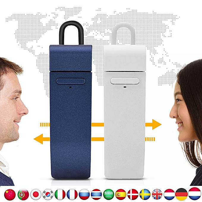 Other VBESTLIFE Multi-Language instant translator voice Real-time translate with  earphone traductor for Business Learning ASQOA à prix pas cher
