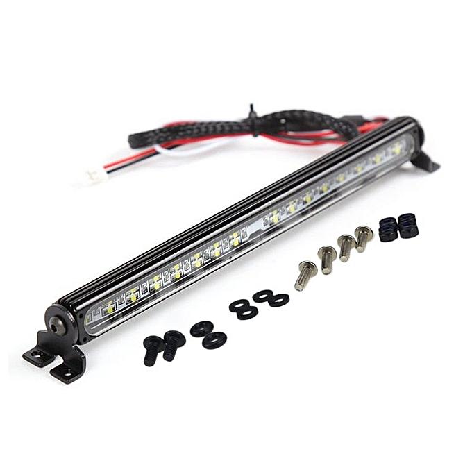 Generic Simulation 1 10 RC voiture 32 LED Crawler Acces Roof Super Bright lumière Lamp Bar blanc à prix pas cher